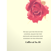 Coffee at No. 10 at maryannminatra.com New Chapter 1.0